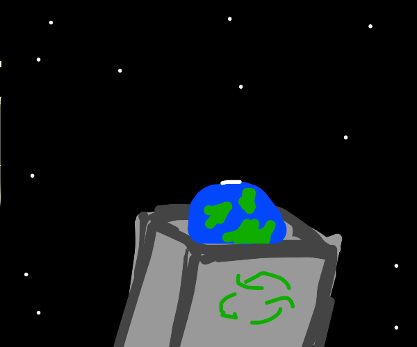 Earth is rubbish