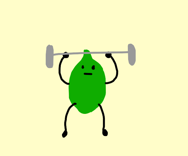 Lime working out
