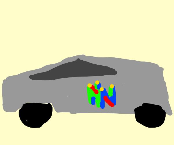 Tesla Cybertruck for the Nintendo 64