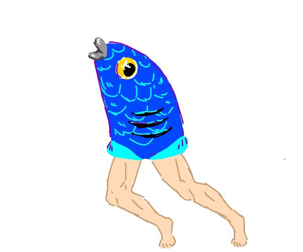 reverse mermaid