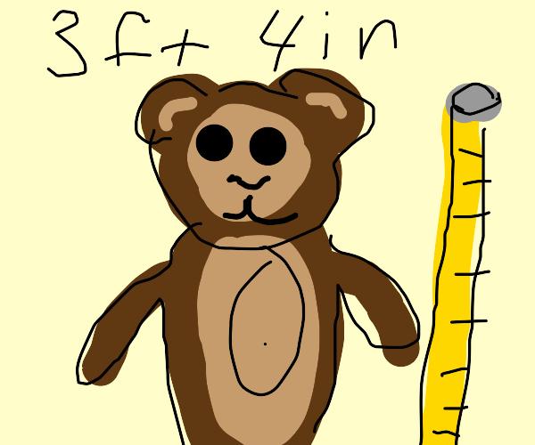 measuring a monkey