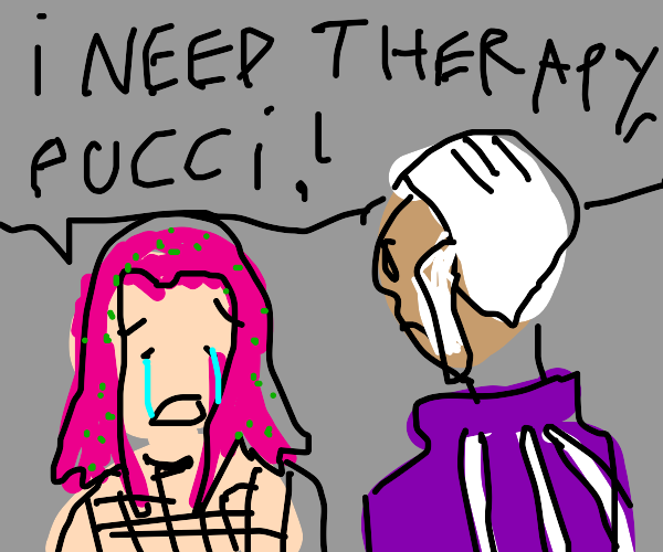 Diavolo goes to Pucci for therapy