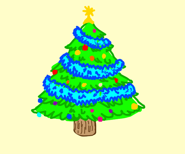uwu christmas tree