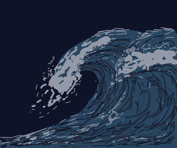Waves on the ocean
