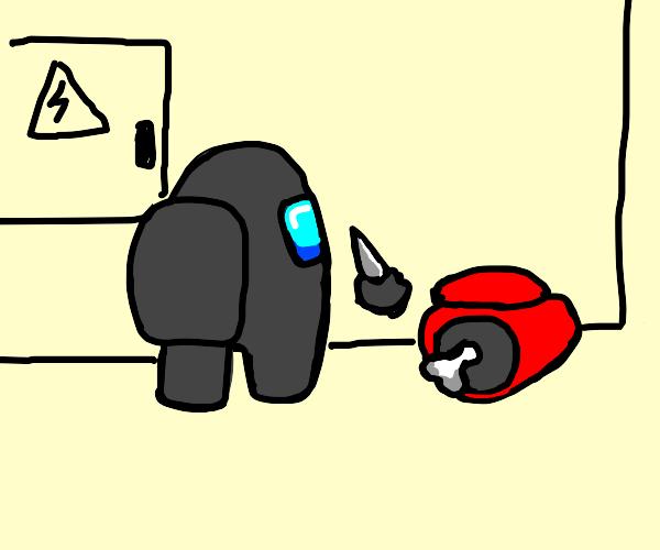Black kills Red (Among Us?)