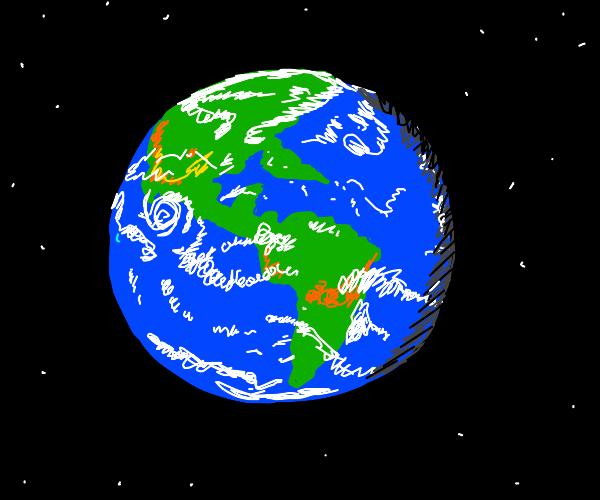 the earth !