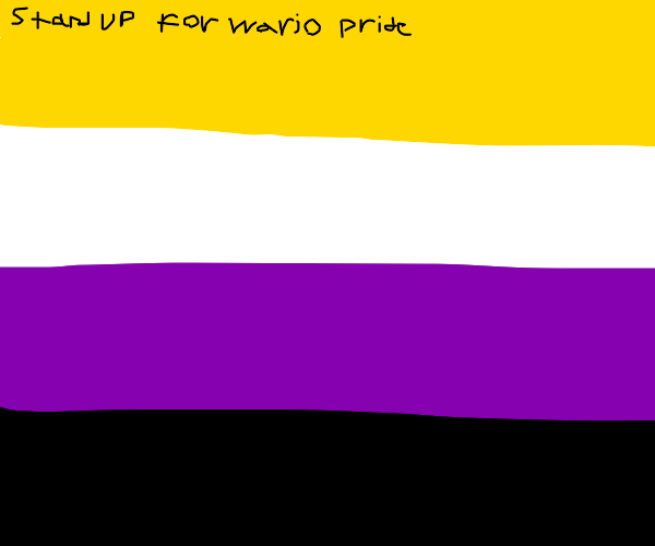 If Wario was a flag