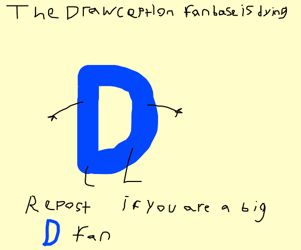 Drawception fanbase is dying