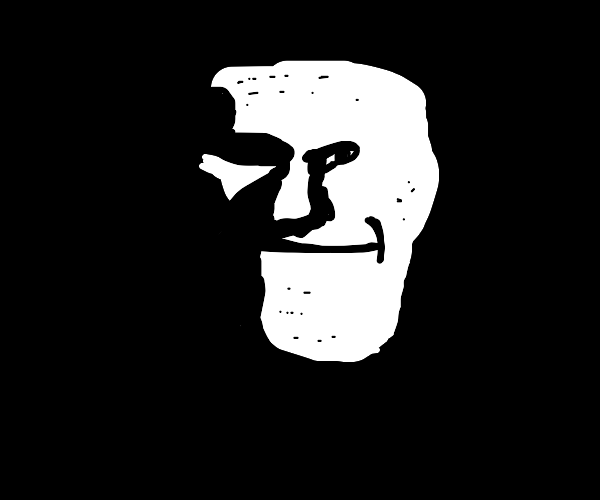 Trollface committed a robbery