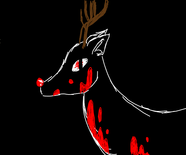 Rudolph is all about revenge now...