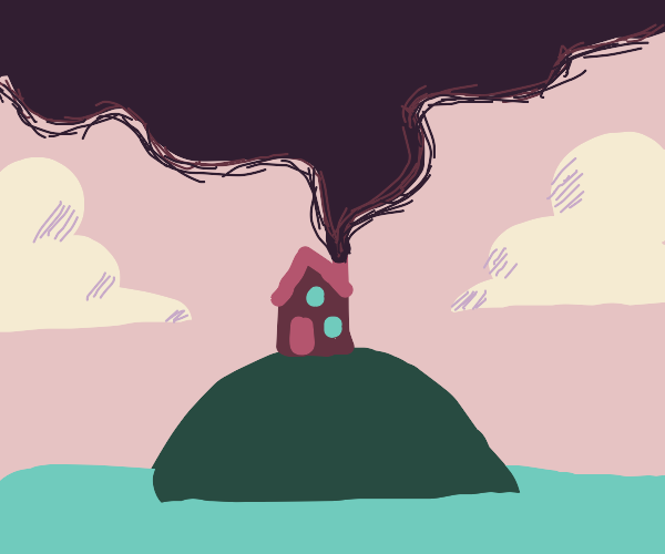 Chimney of Tiny House is A Heavy Polluter