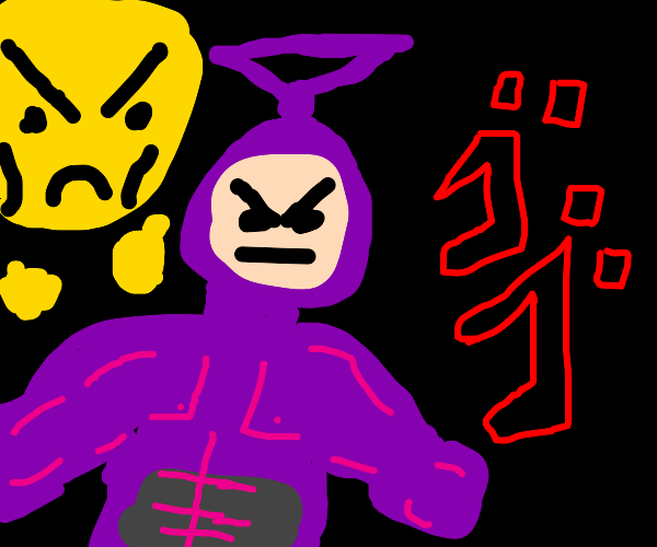 Teletubbies when they watch too much jojo