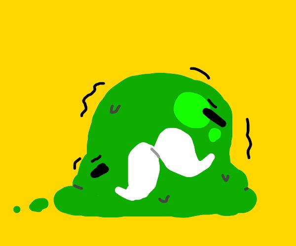 old, trembling slime