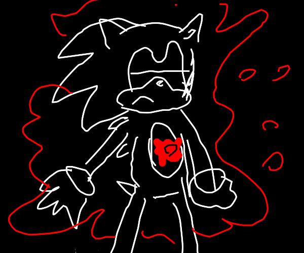 Sonic is shot dead