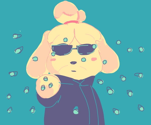 isabelle stopping bullets like in the matrix
