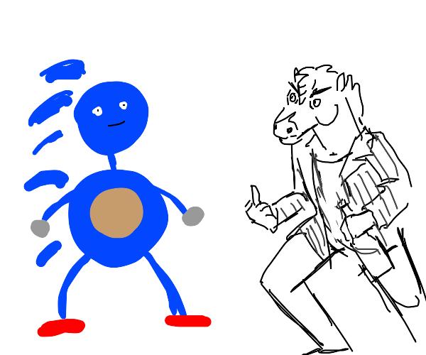 Bojack Horseman vs Sanic