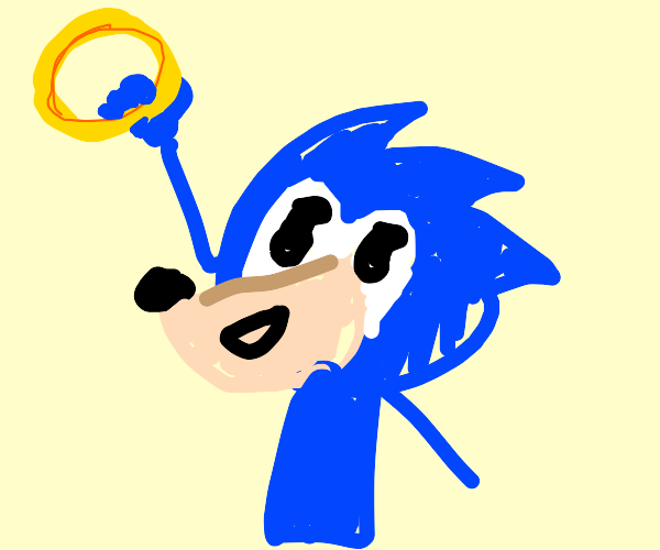 Sonic gets ring