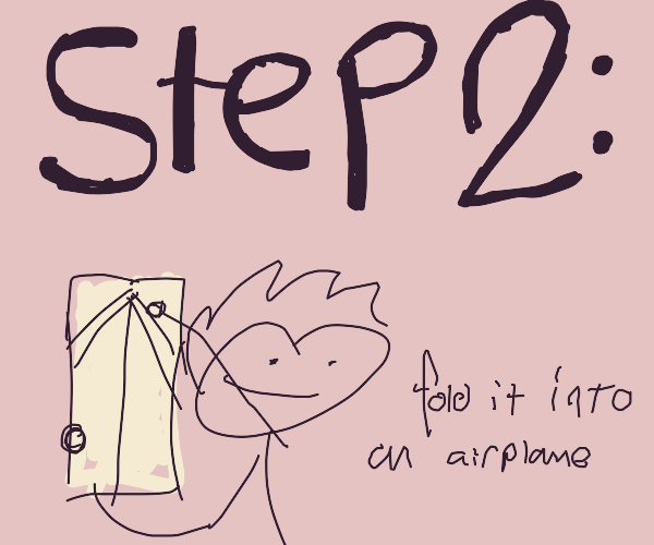 step 1: get some paper