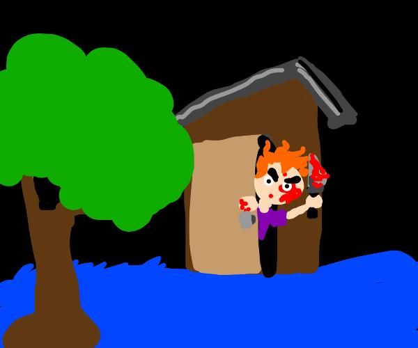 A murderers shack
