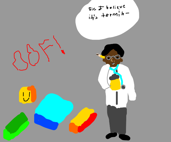 """roblox guy goes to doctor and dies """"OOF"""""""