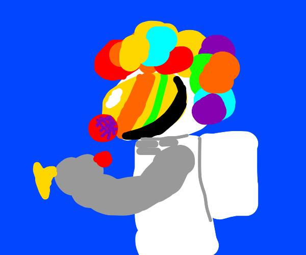 Clown Astronaut