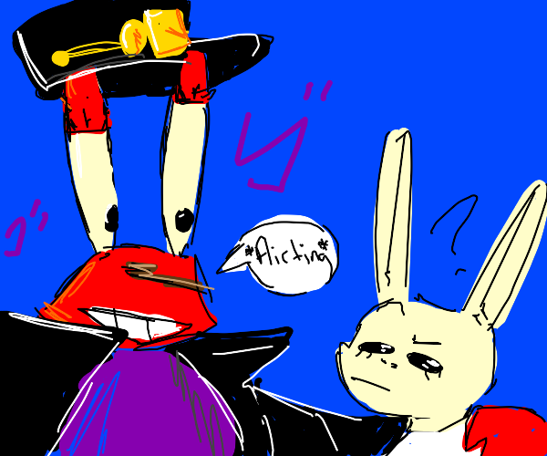 Jojo mr krab flirts on beastar haru