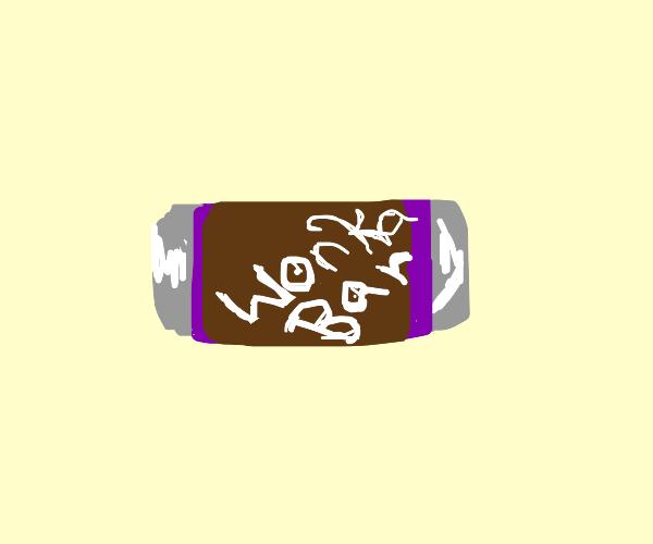 Wonka choco bar