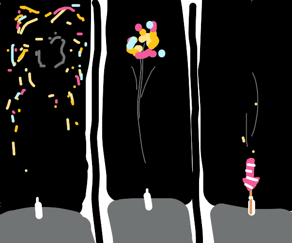 reverse fireworks