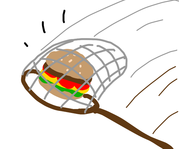 Catching a Hamburger