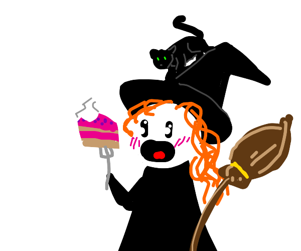 Witch Eats Cake