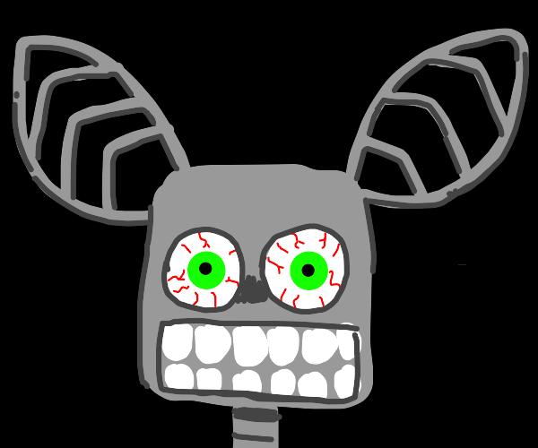 creepy fnaf fan art