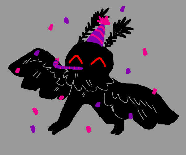 Moth Celebrating