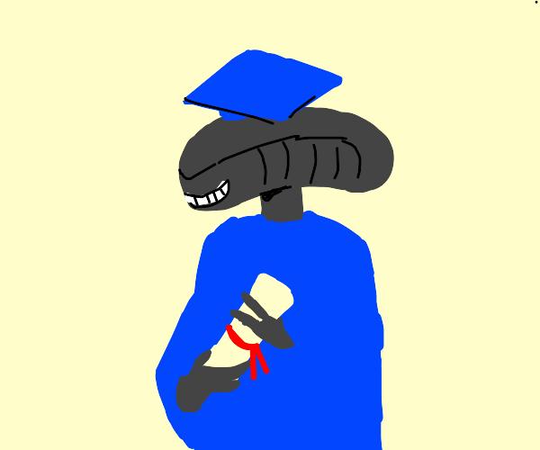 educated monstrous alien