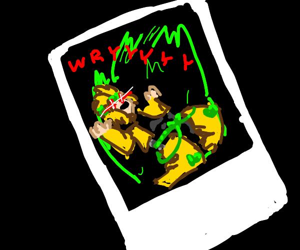 dio's photo goes wryyy