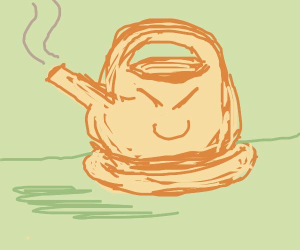 Very evil teapot