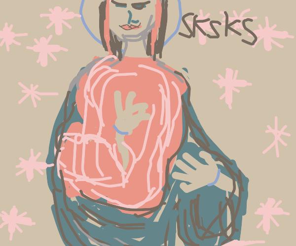 Jesus became an egirl