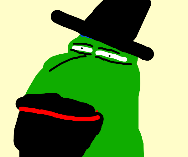 Pepe is a Jew now. No haram allowed here