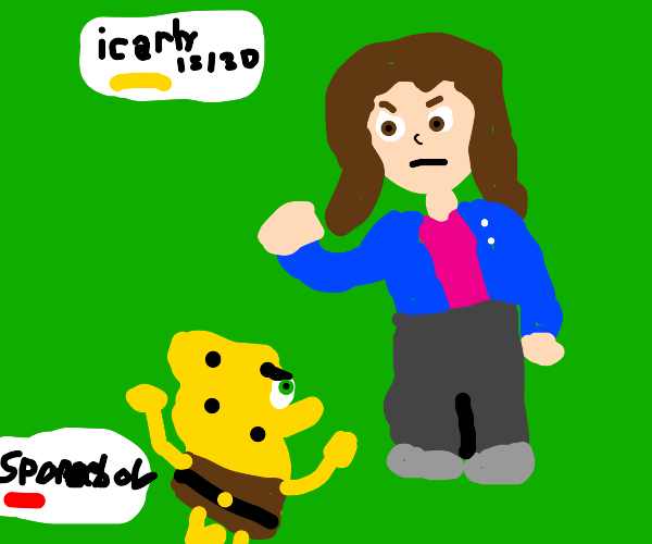 iCarly VS Spongebob