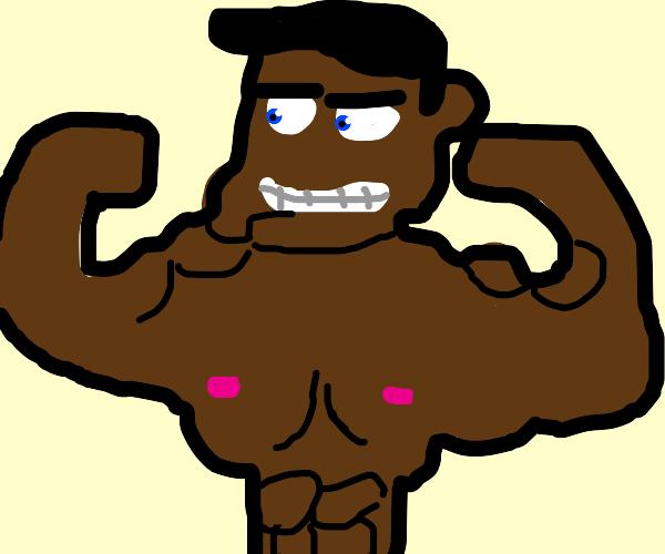 Buff man
