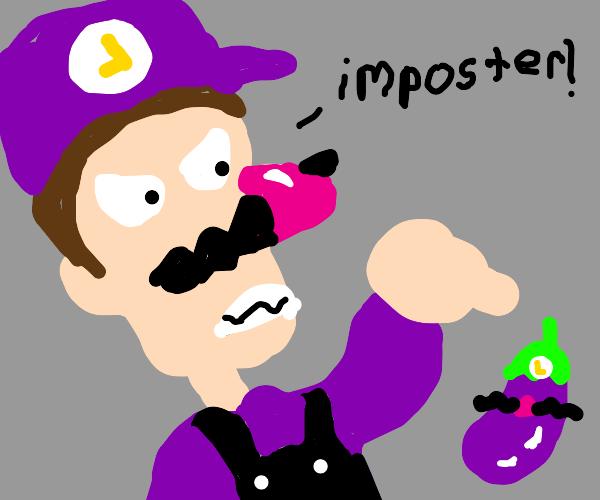 Waluigi hates eggplants.
