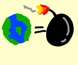 Earth Day = Bomb Day