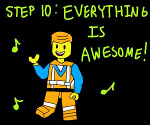 Step 9: Be good