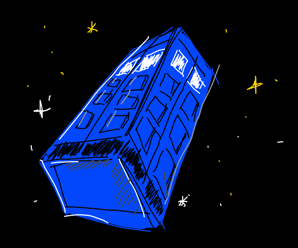 The Tardis in Space