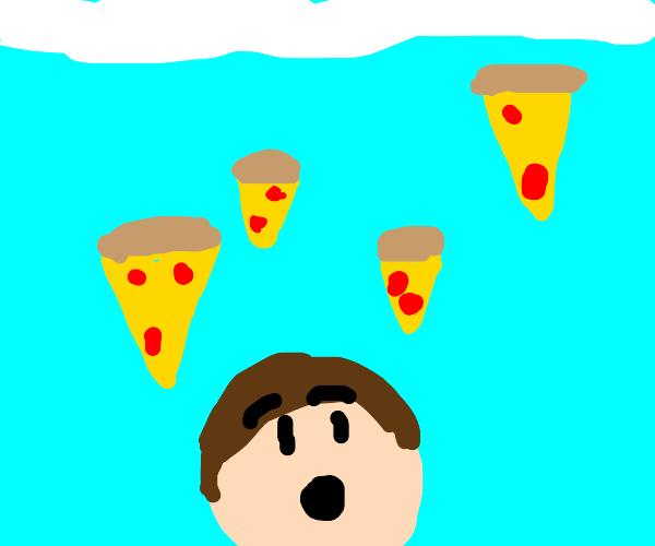 It's Raining Pizza!