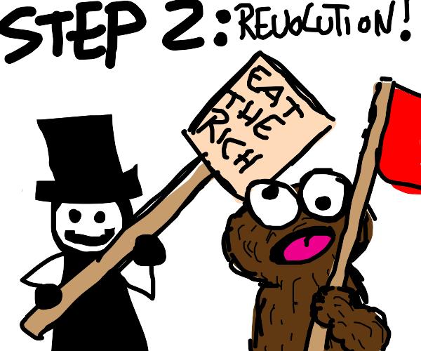 Step 1: Declare communism legal