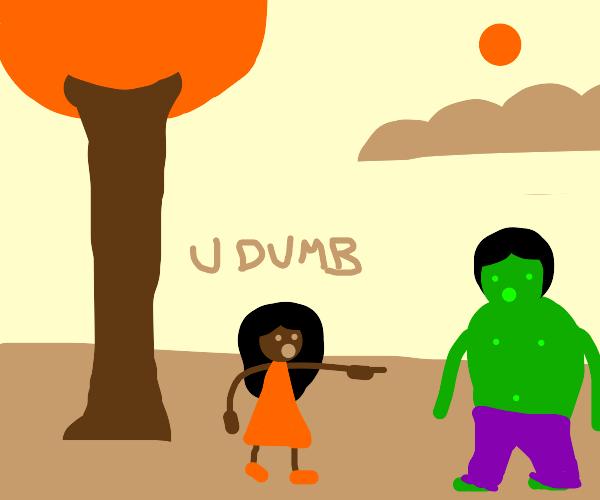 Hulk getting bullied