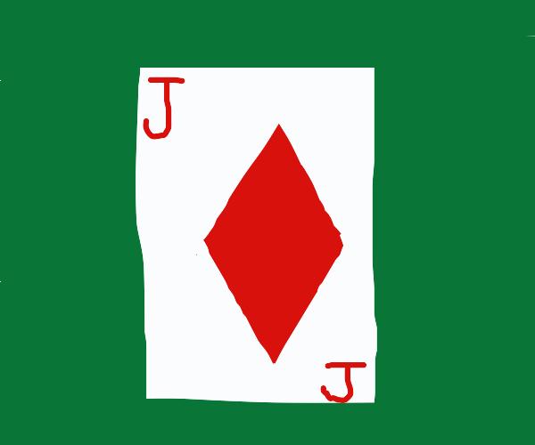 poker jack of diamond
