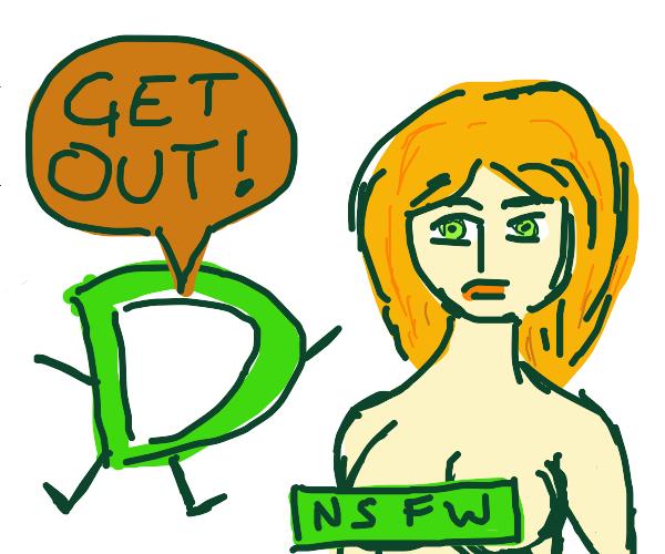 drawception banning nsfw