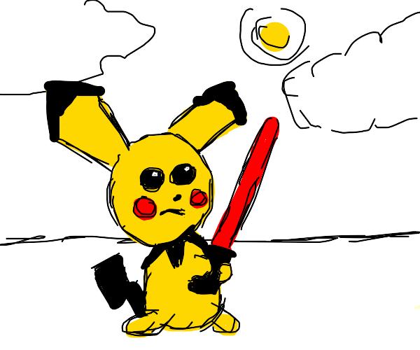 Pichu turns to the dark side