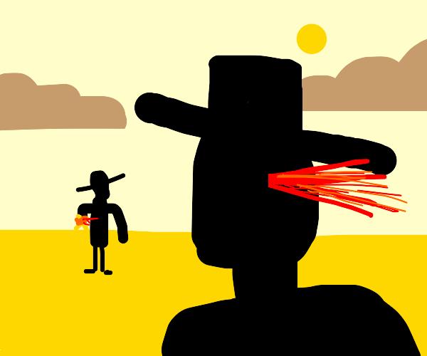 losing the western showdown
